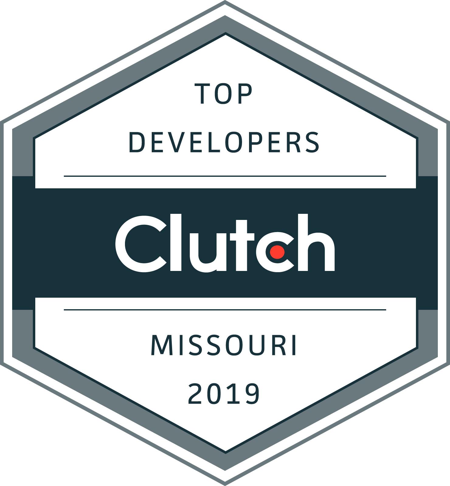 Clutch.co Top Developers Badge 2019