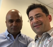 Jason Stone Selfie with DNN CEO Navin Nagiah