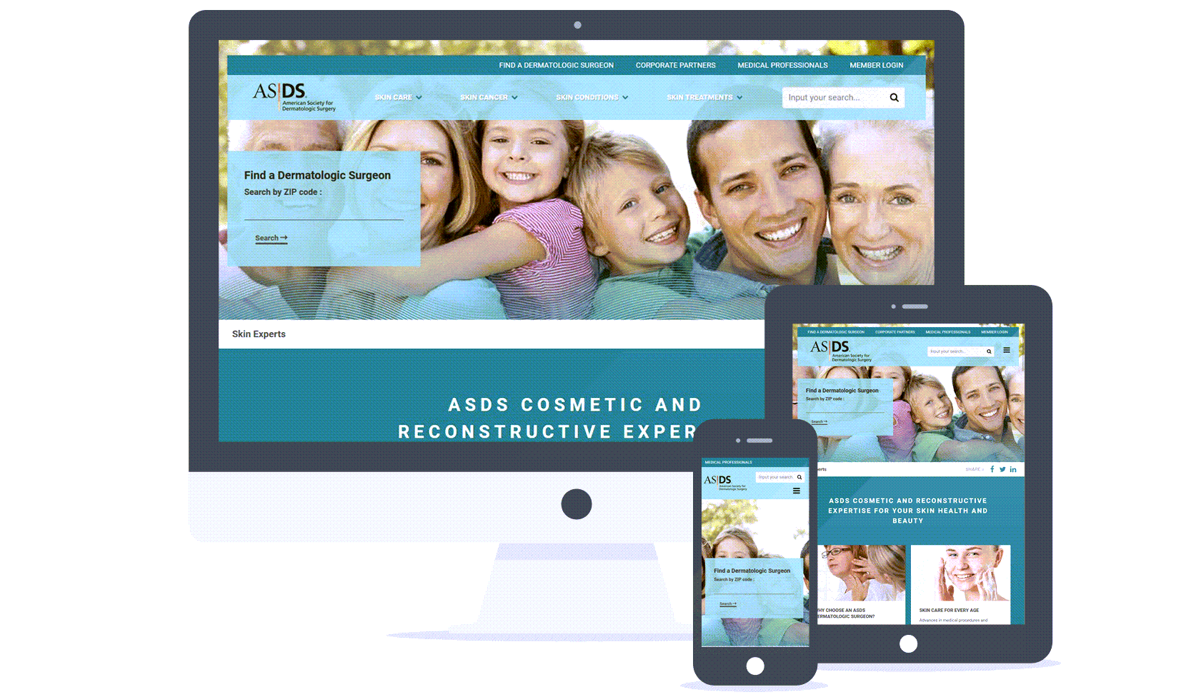 Association Management Software Responsive Website